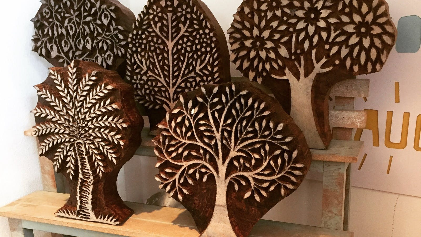 Wood Blocks from India