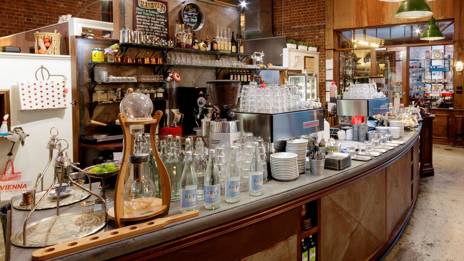 Das Kaffeehaus coffee roastery and Austrian coffee house