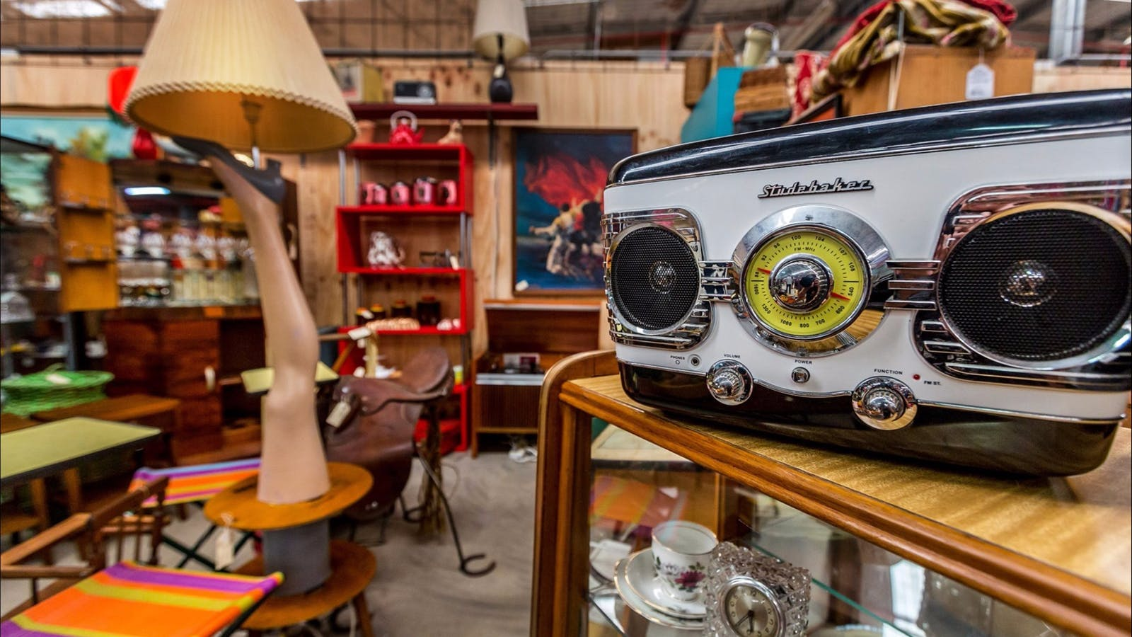 Find what you're not looking for at the Castlemaine Vintage Bazaar