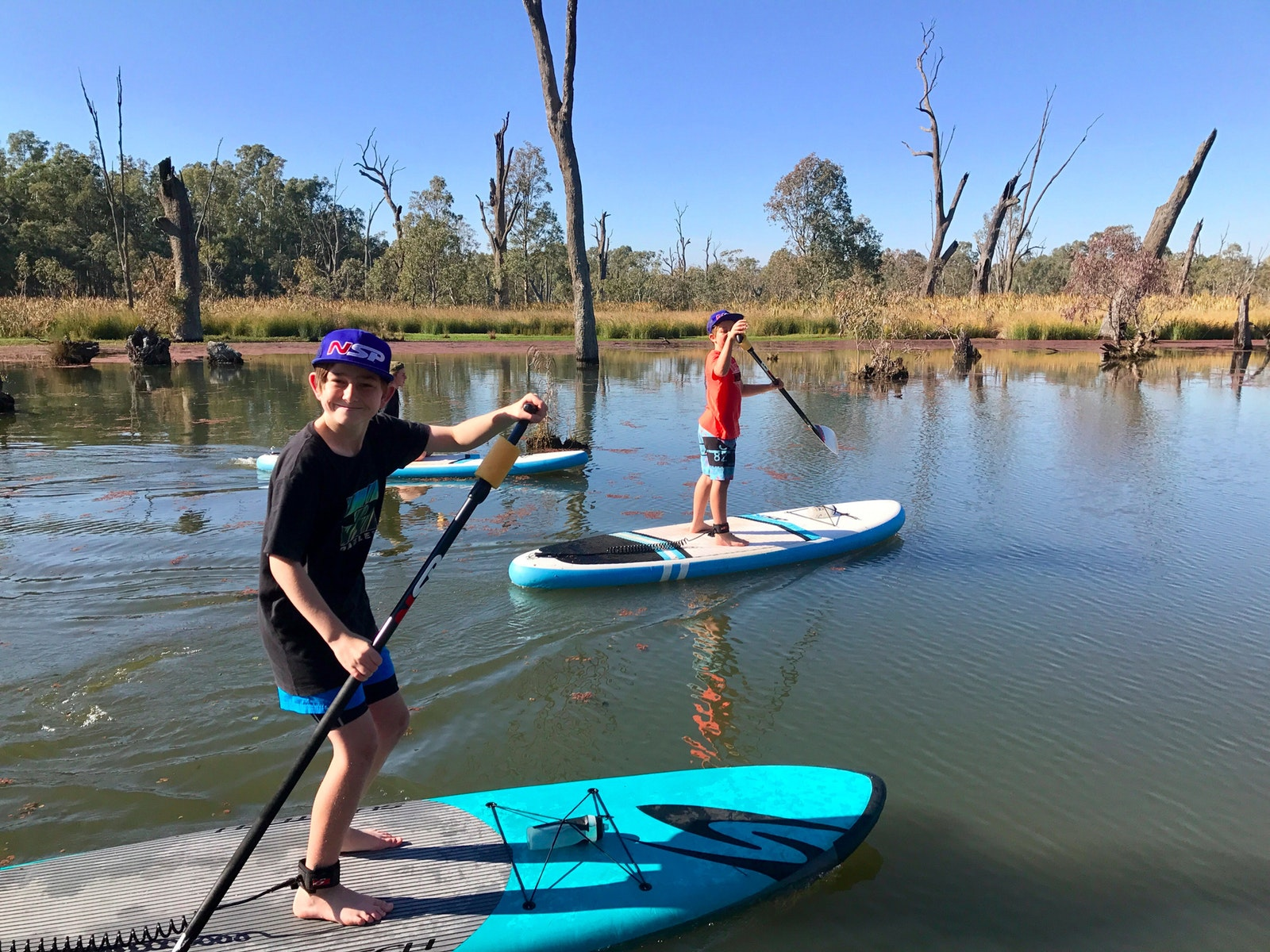 Get the kids out on the water exploring