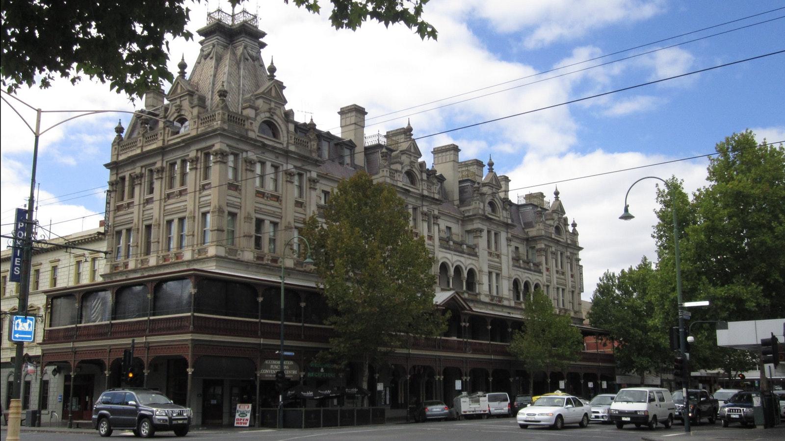 Shamrock Hotel, Bendigo - Goldfields