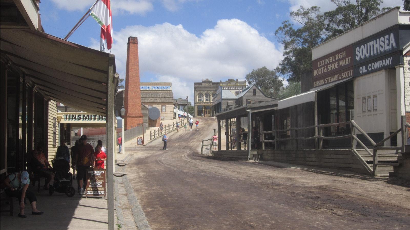 Sovereign Hill, BALLARAT - Goldfields