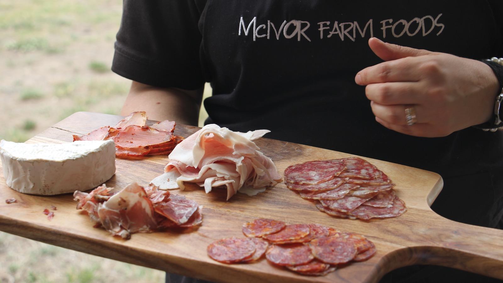 Lunch at McIvor Farm