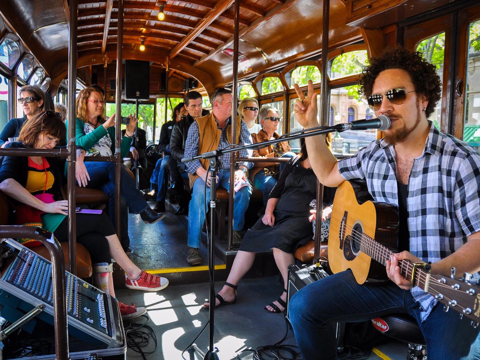 Bendigo Blues Tram