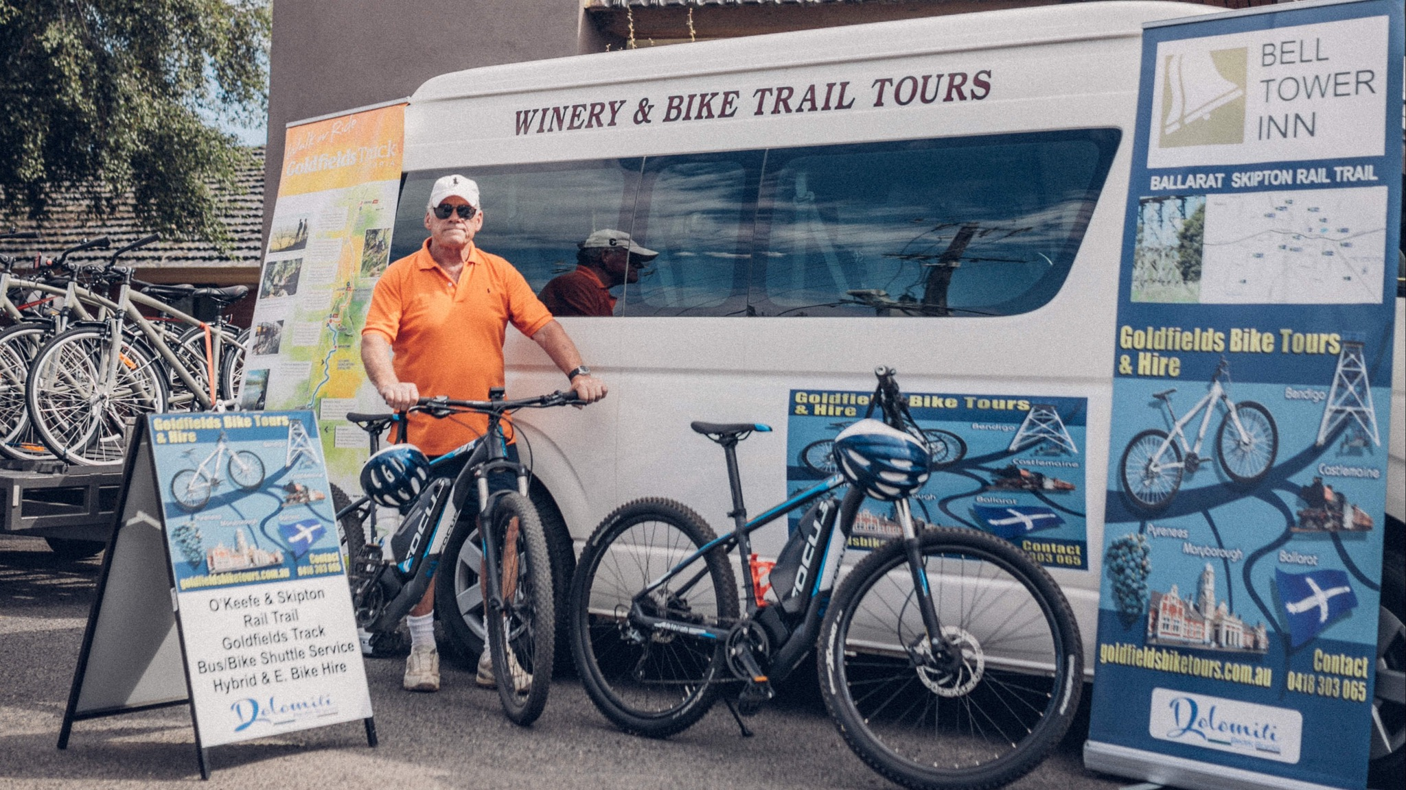 Personalised Guided Bike and Bus Tour - Goldfields