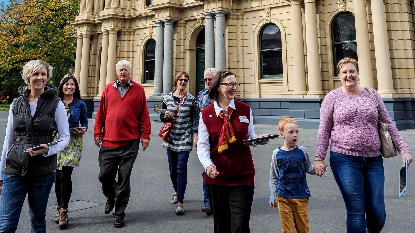Bendigo Town Hall Tours