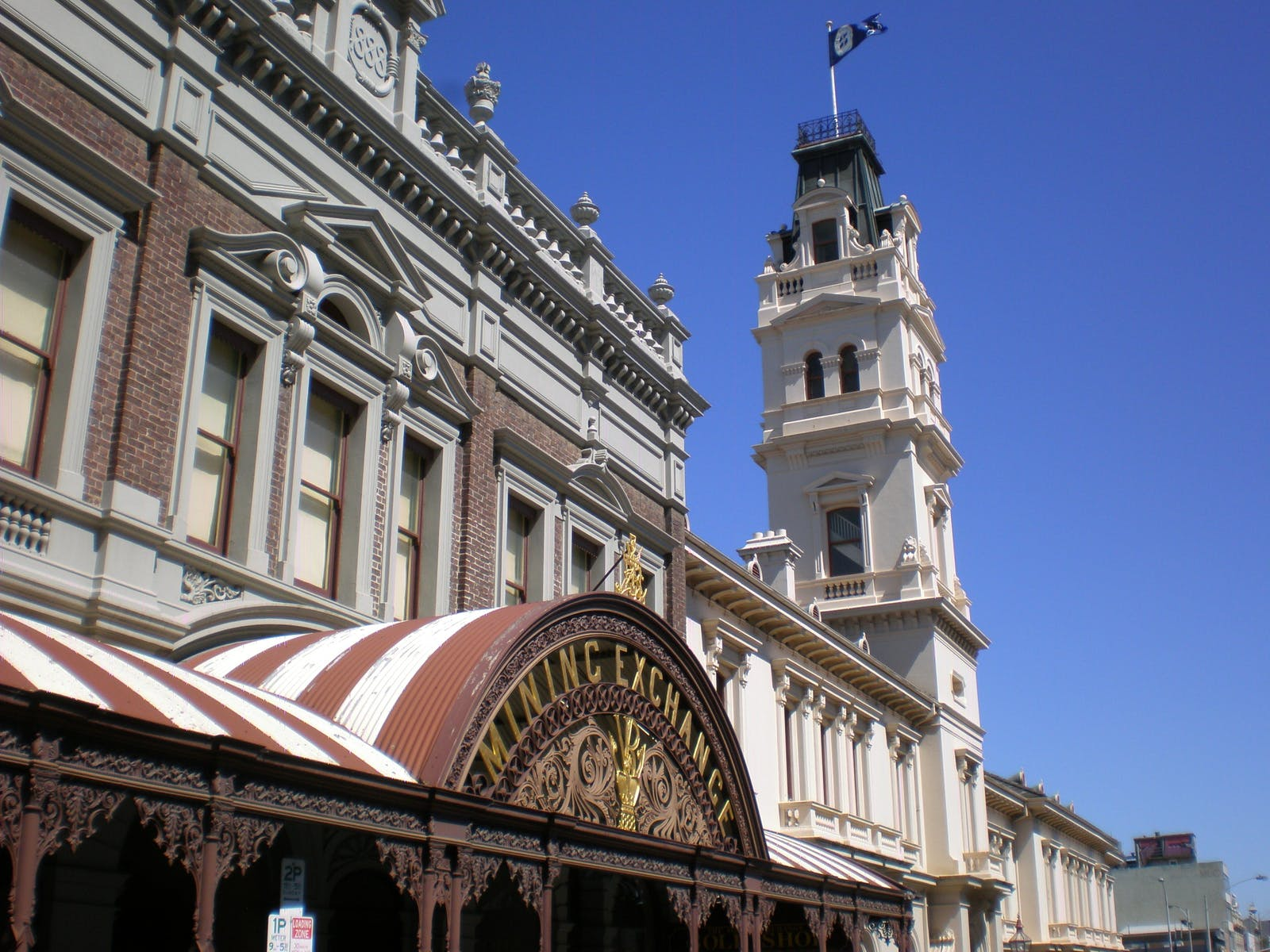 Ballarat Mining Exchange & Post Office.