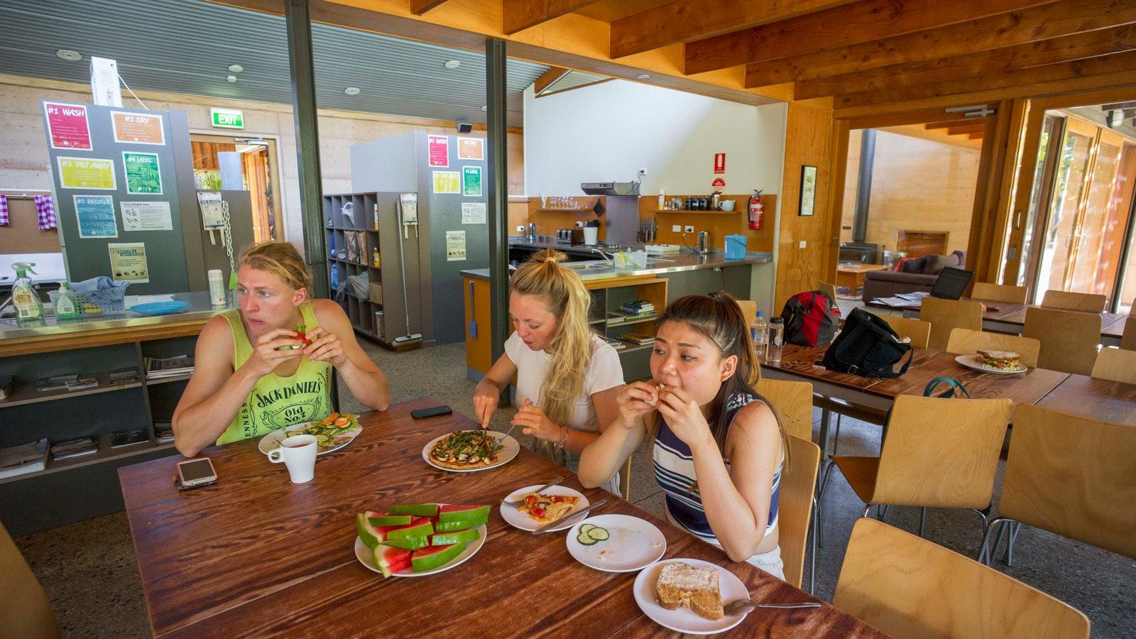 Grampians Eco YHA Dining Room