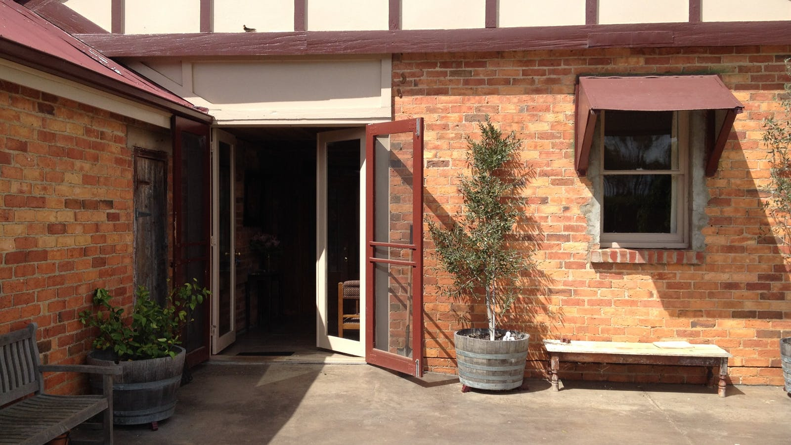 Entrance to Chardonnay Suite