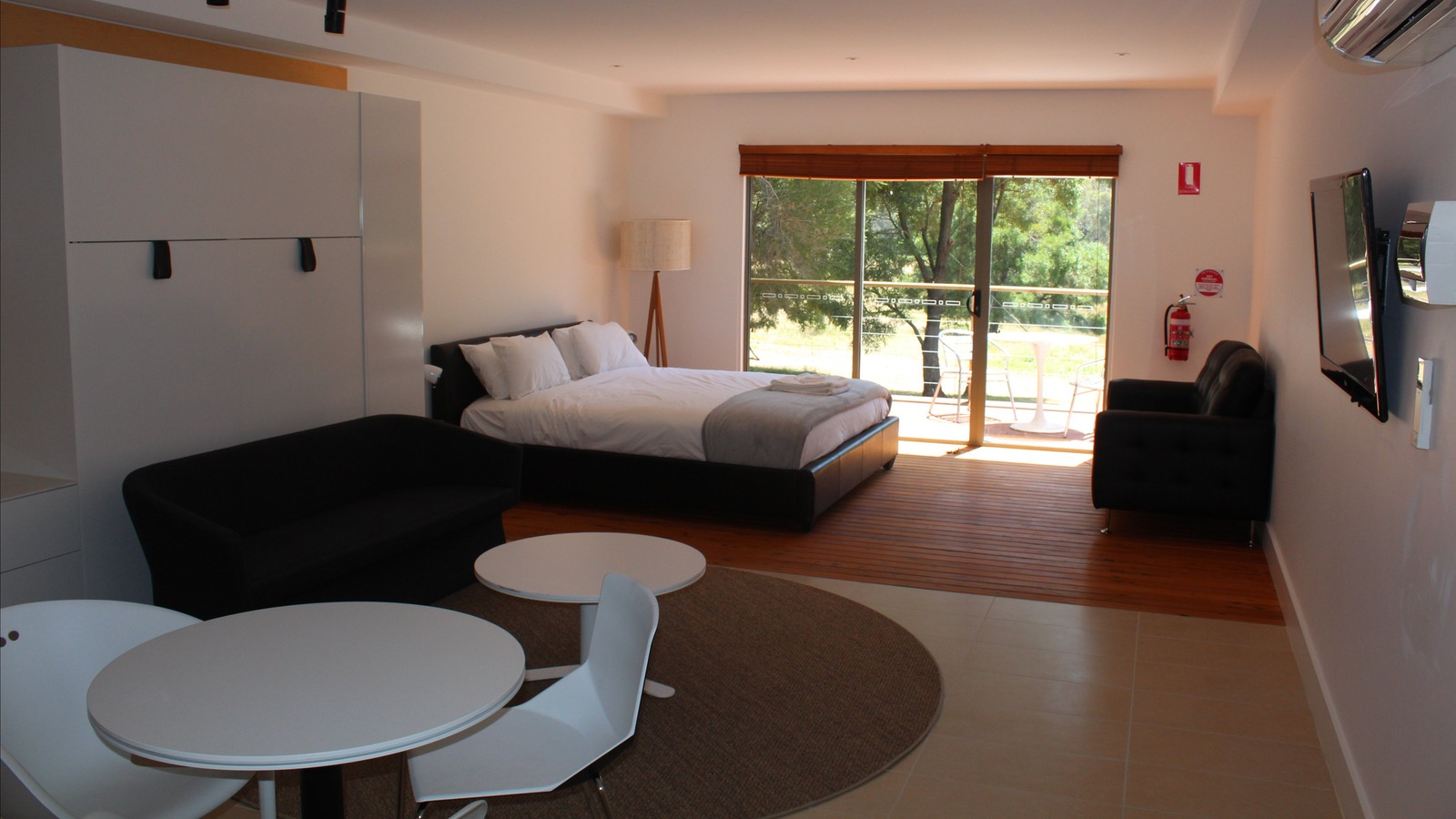 Modern high end accommodation in the Grampians