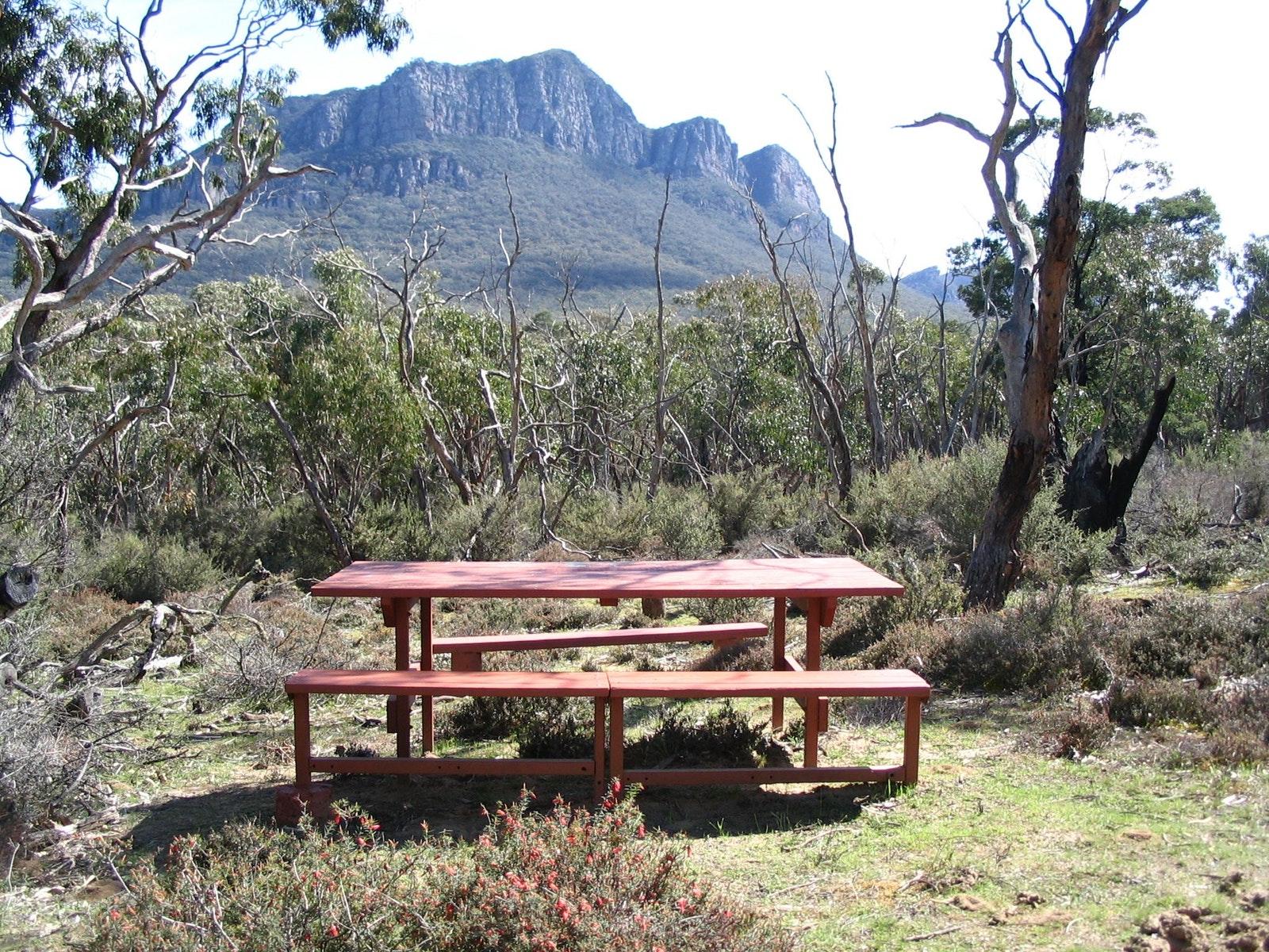 Base Camp, Mt Abrupt