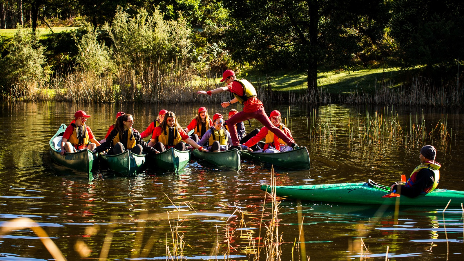 Canoeing at Cave Hill Creek