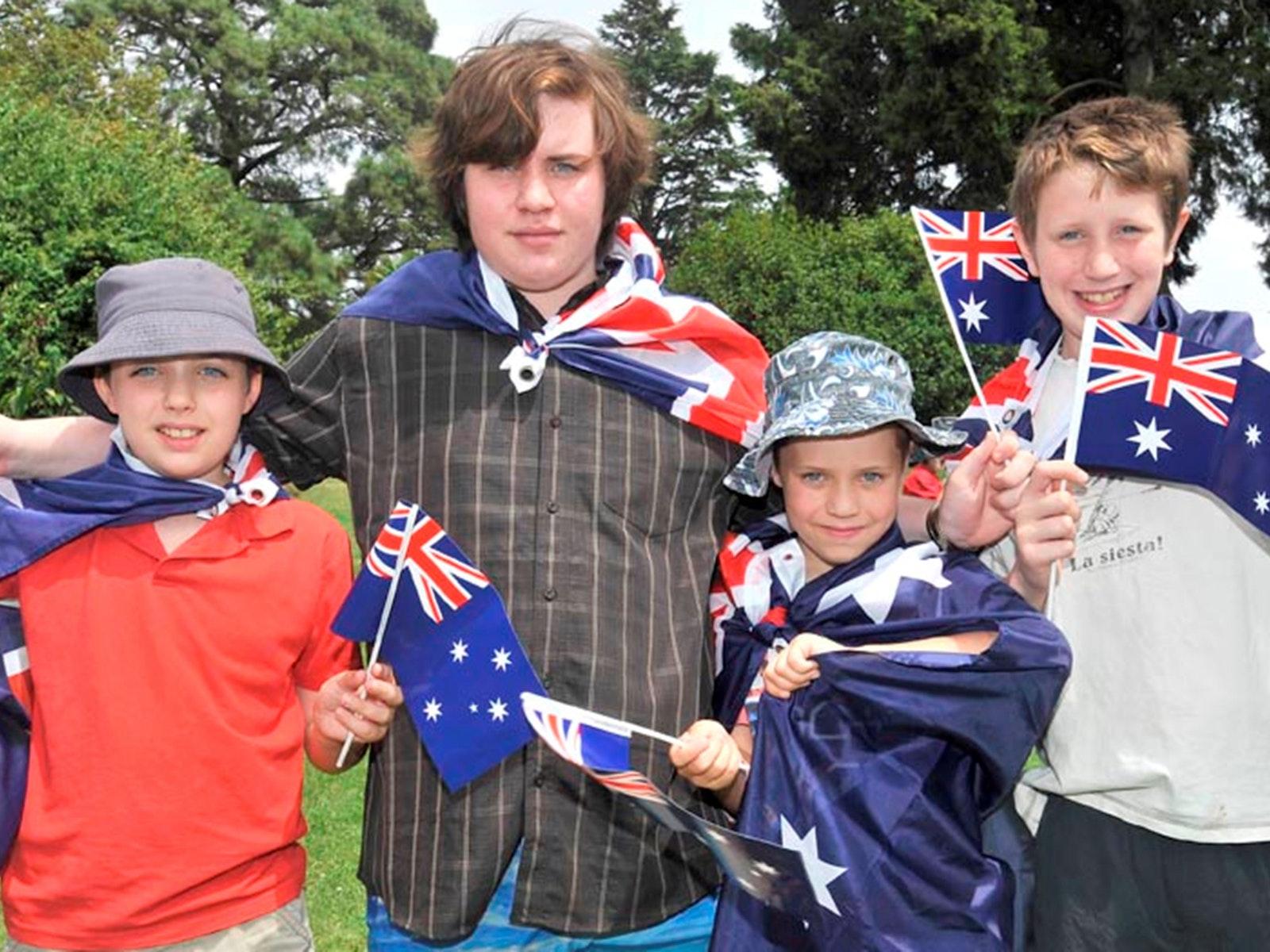 Australia Day Dunkeld