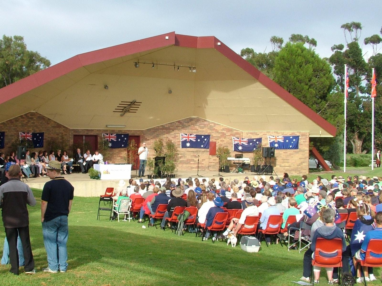 Australia Day Celebrations in Horsham