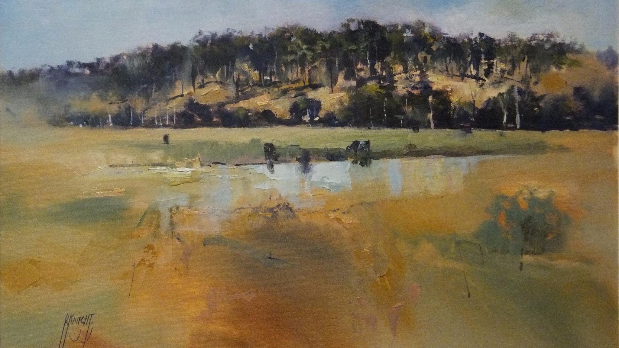 oils by Robert Knight