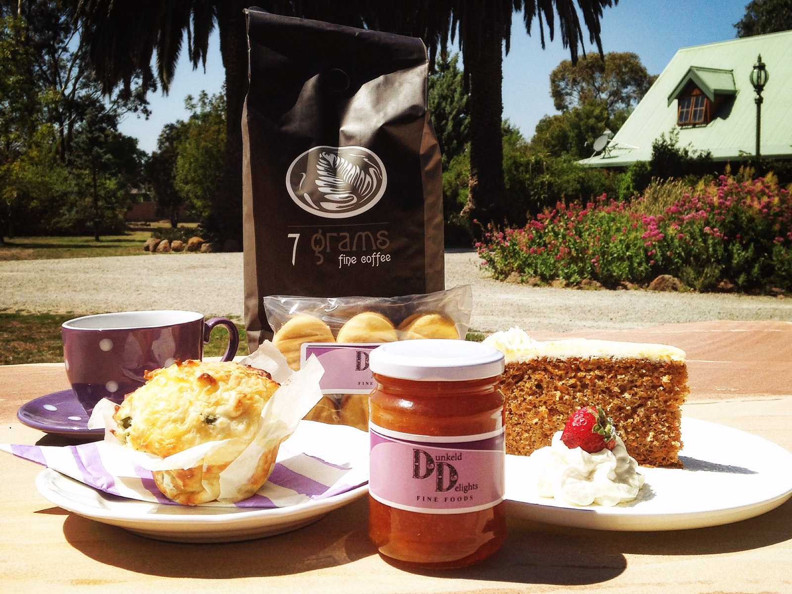 Dunkeld Delights produce and products