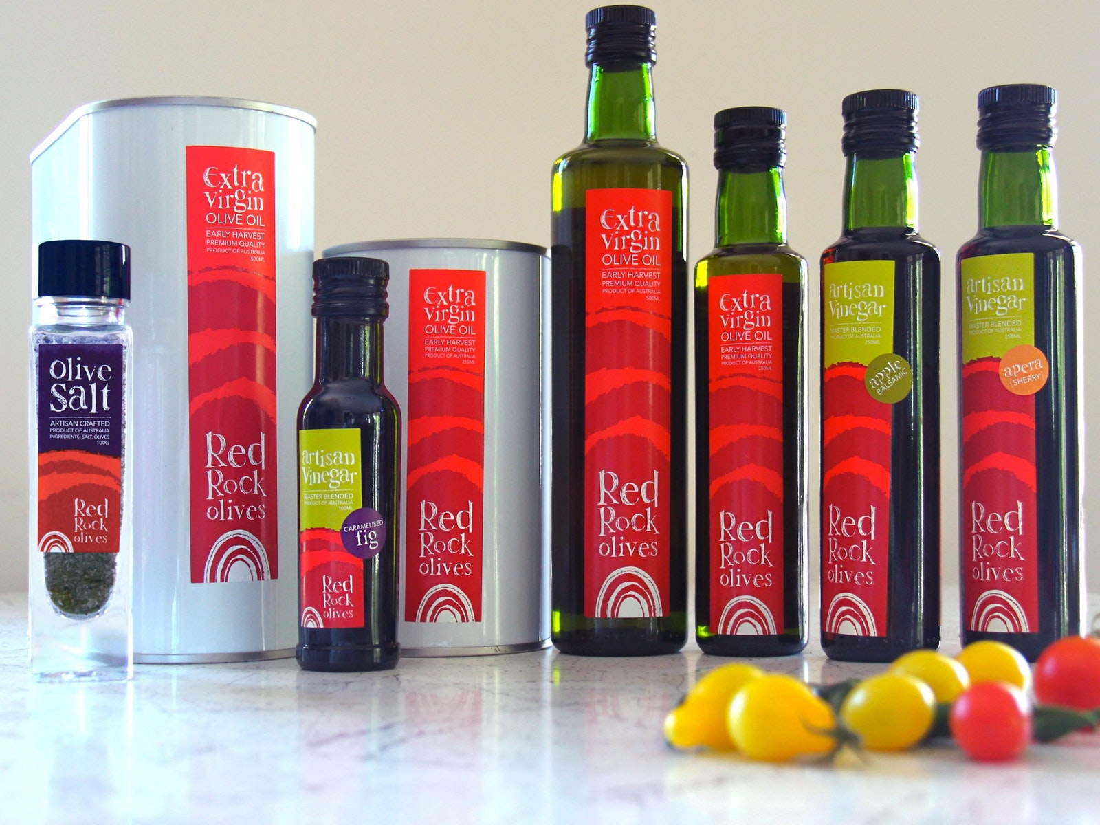 Red Rock Olive products