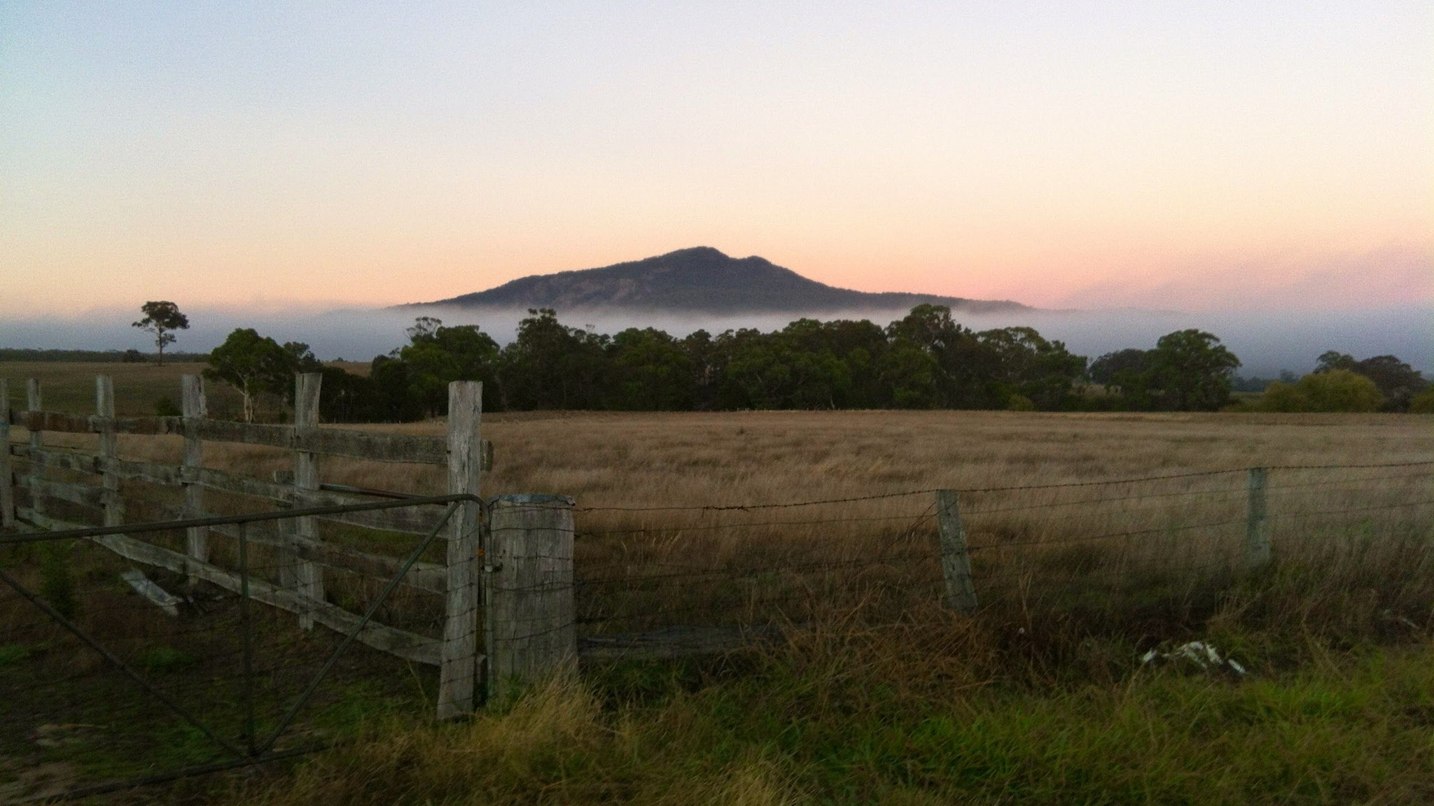 Mt Buangor first thing in the morning