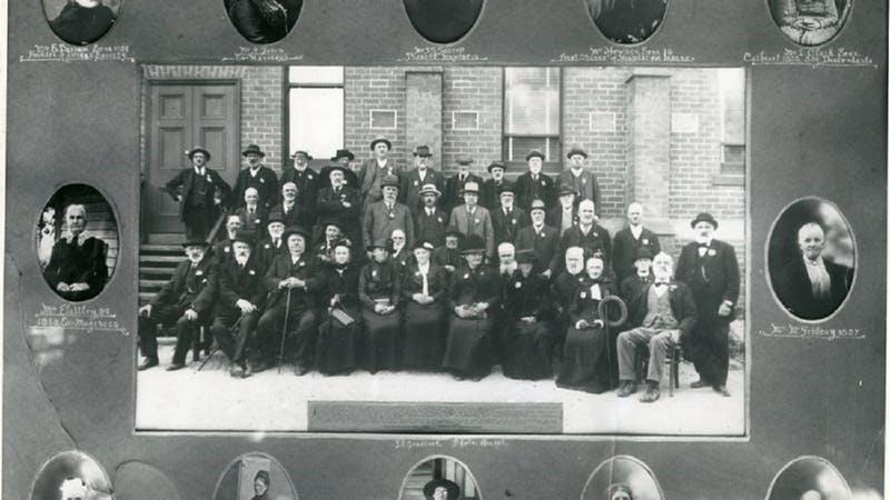 Ararat Surviving Pioneers 1918 Diamond Jubilee
