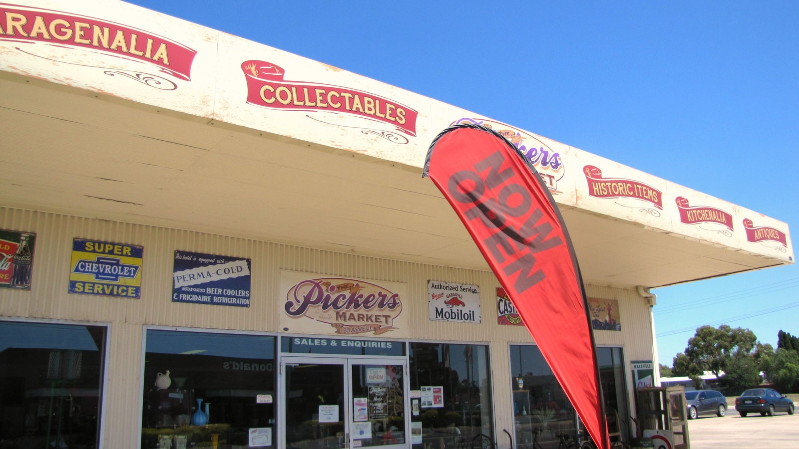 The Pickers Market, directly opposite McDonald's, Western Hwy Stawell