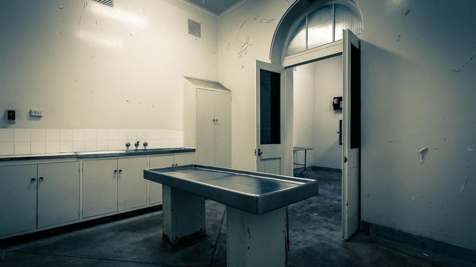 Aradale morgue