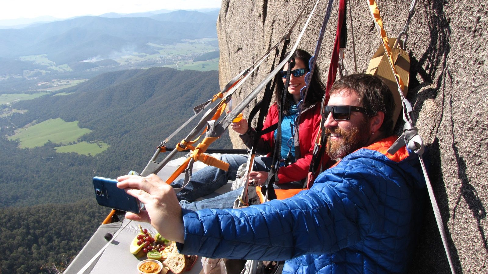 Mt Buffalo- Portaledge Picnic