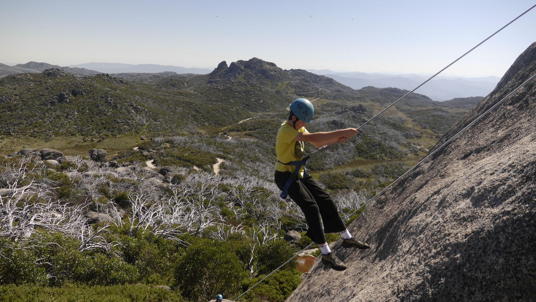 Mt Buffalo Rock Climbing