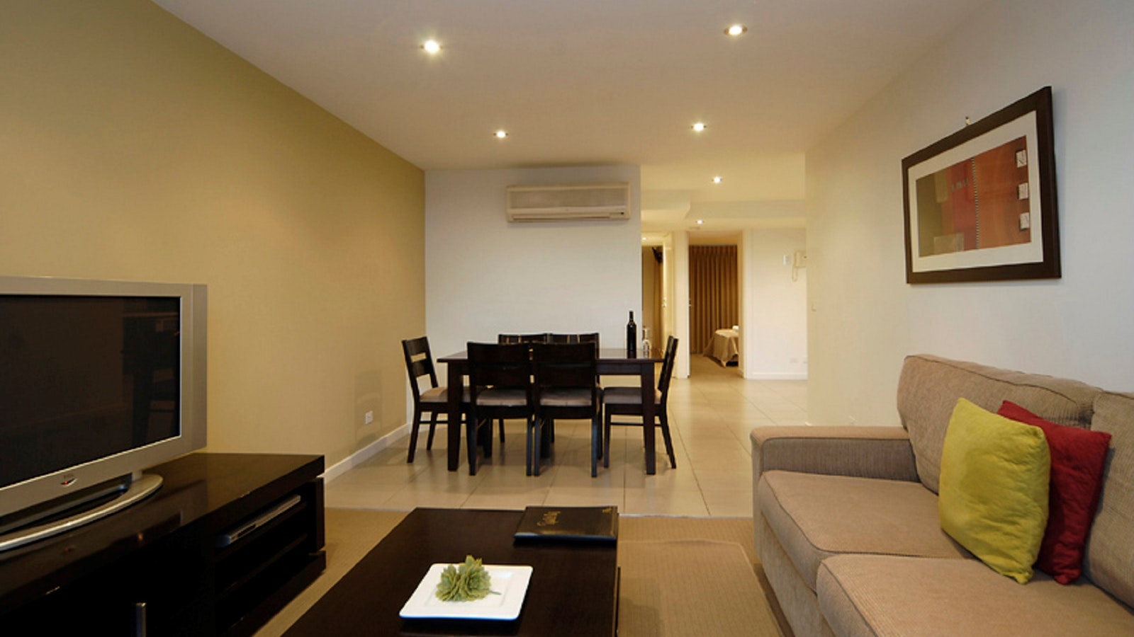 Living area Ground level apartments