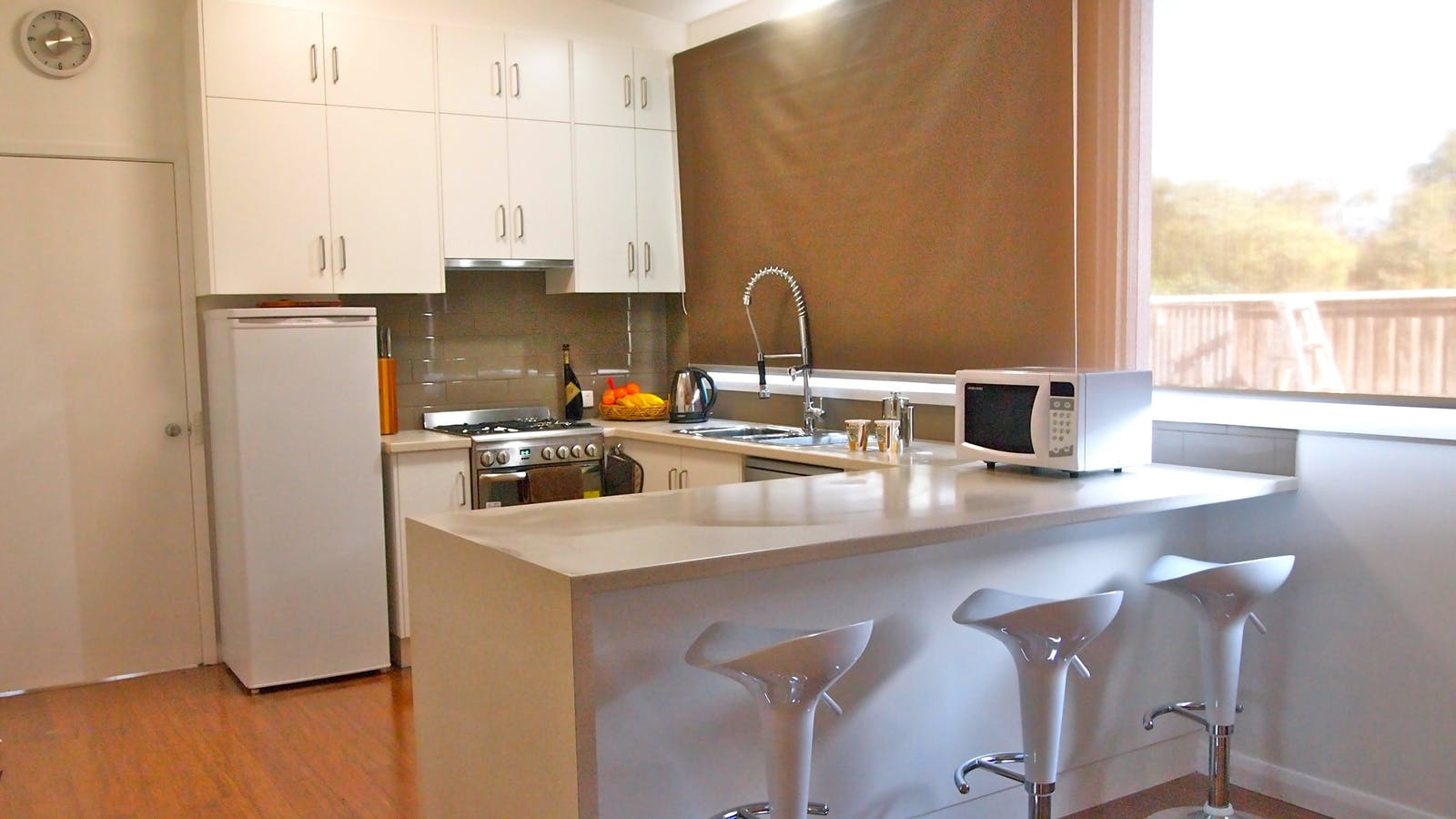 Kitchen at Townhouse 99