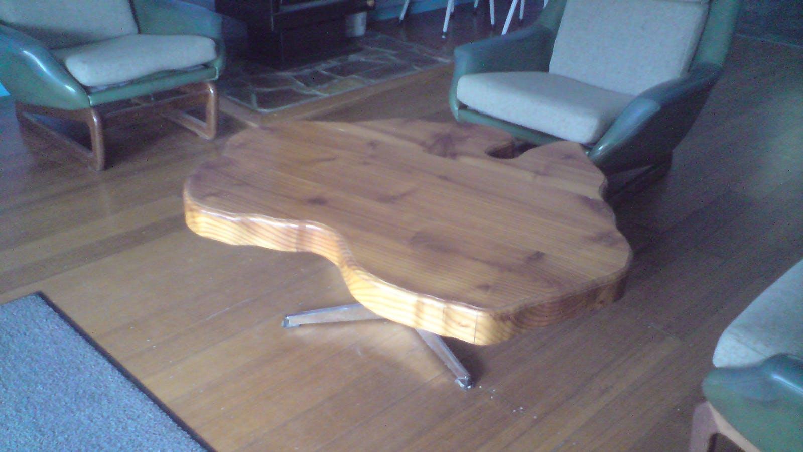 An Australian coffee table