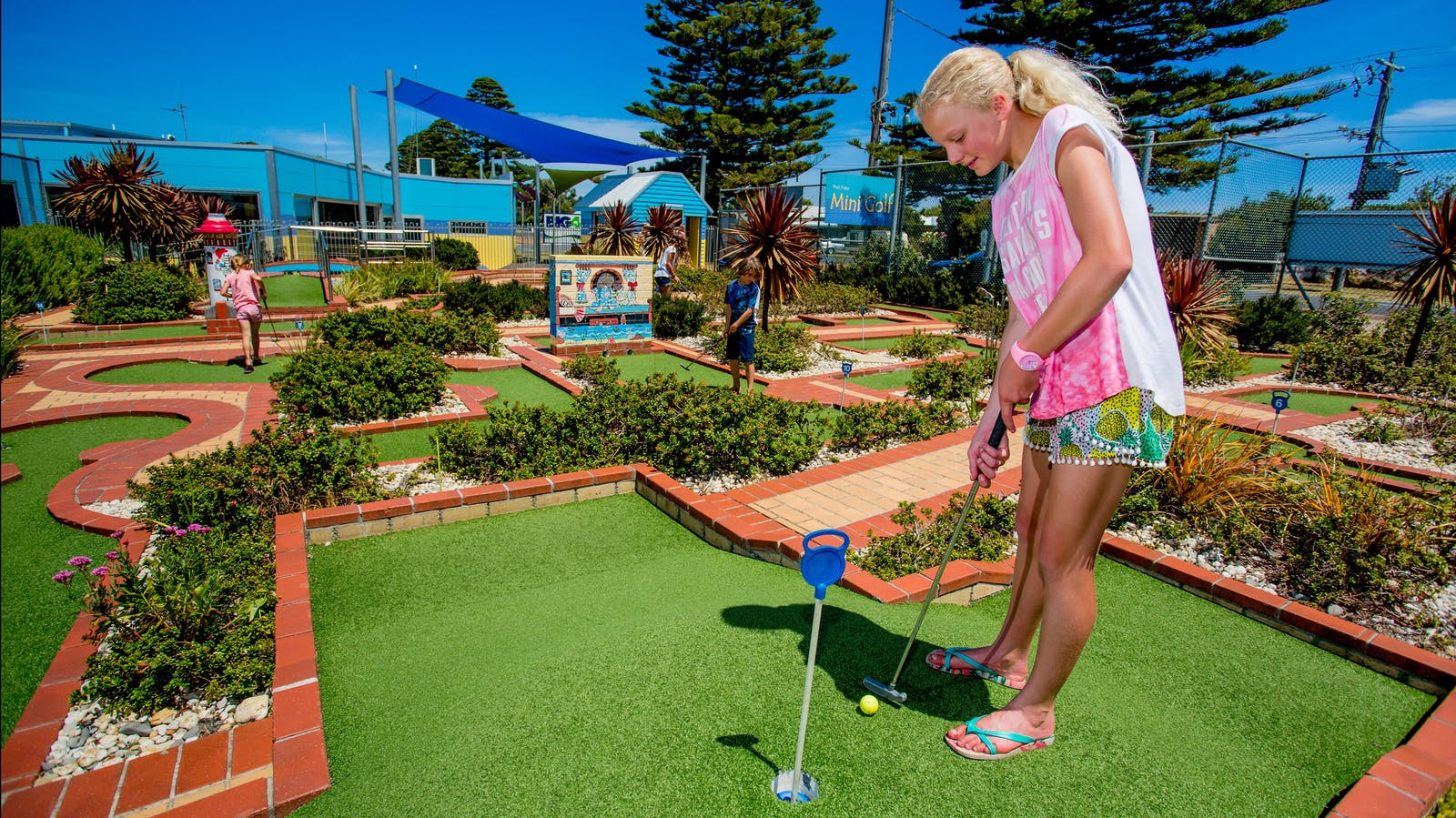 Mini Golf on site
