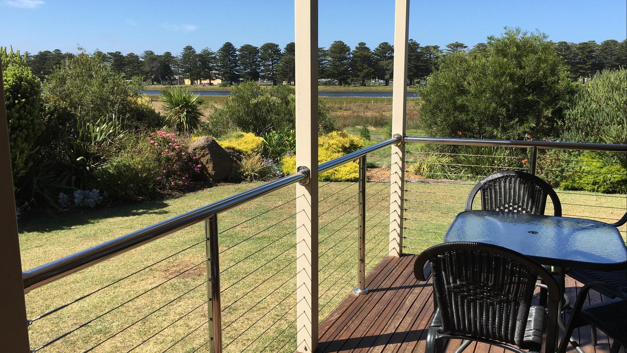Villa views to the Moyne River