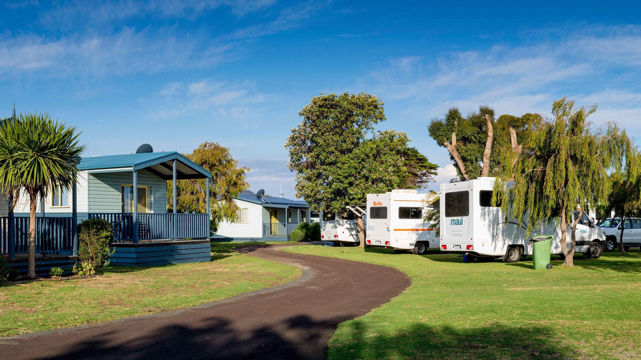 BIG4 Port Fairy - Park gardens