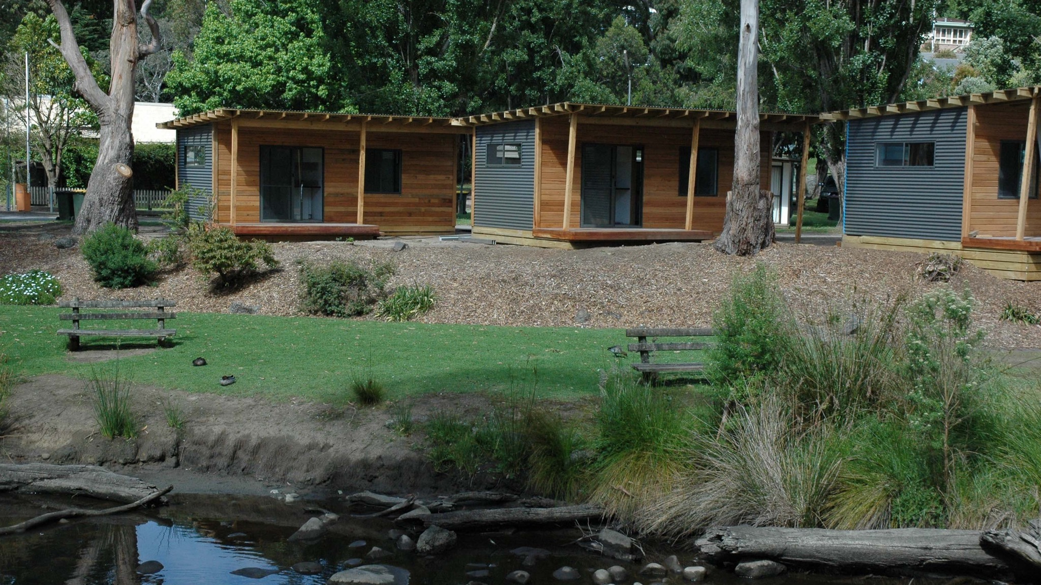 Riverview cabins
