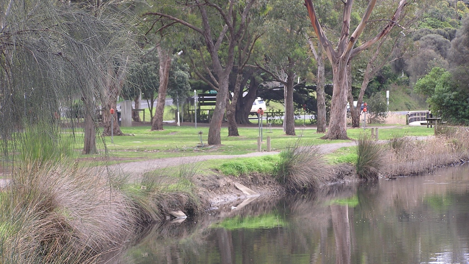 Camping by Erskine River