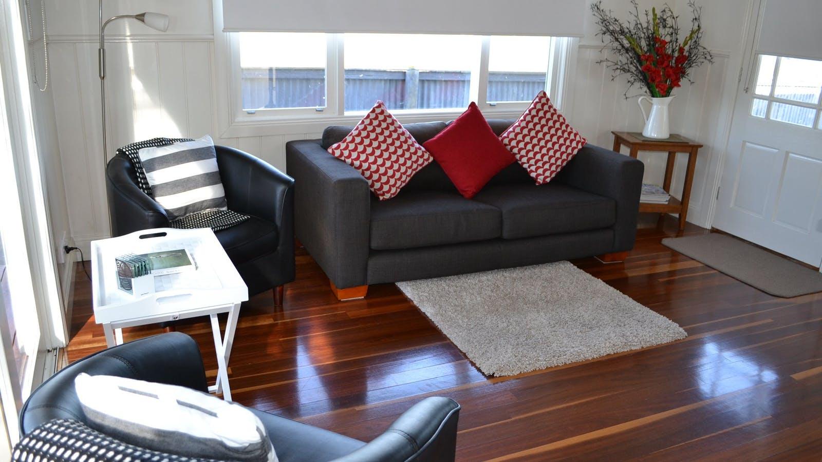 Calgary House sitting area