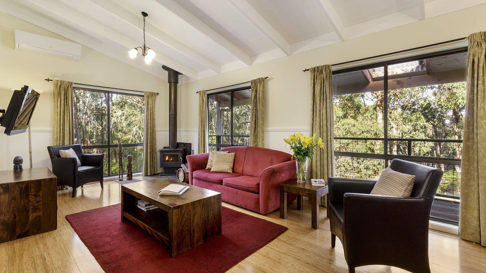 Canopy living room