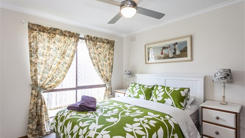 Fisho's Cottage | Master Bedroom