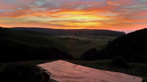 Sunrise over Johanna Valley-Eaglenest
