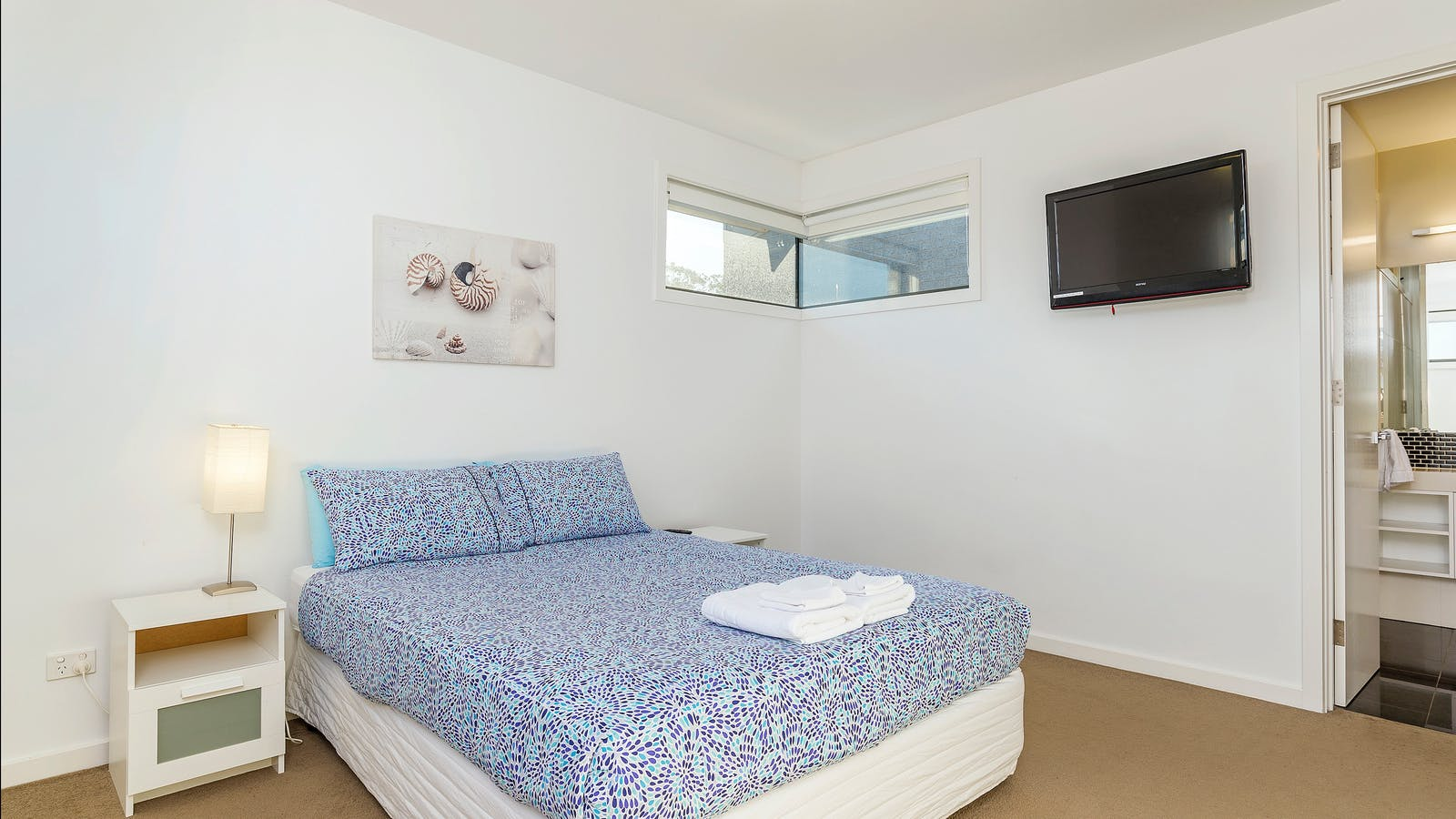 Upstairs master with TV & Ensuite