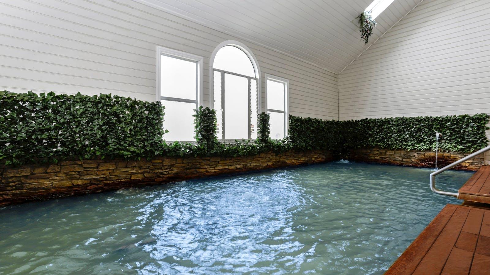 Open Hot Springs Pool