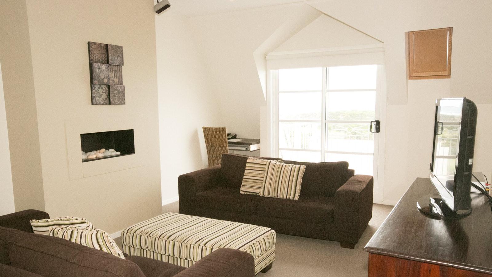 Penthouse lounge room