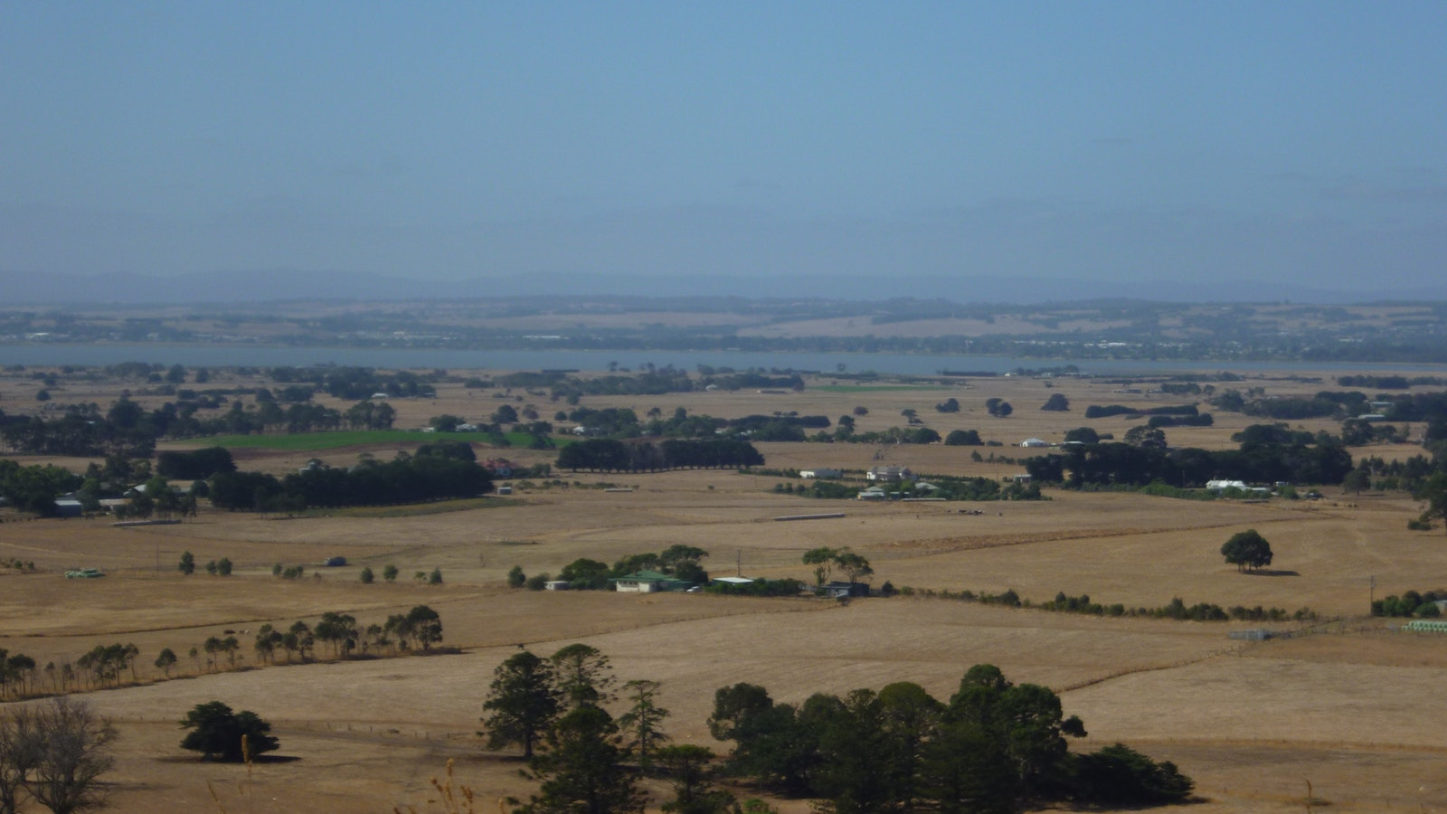Lake Colac from Red Rock