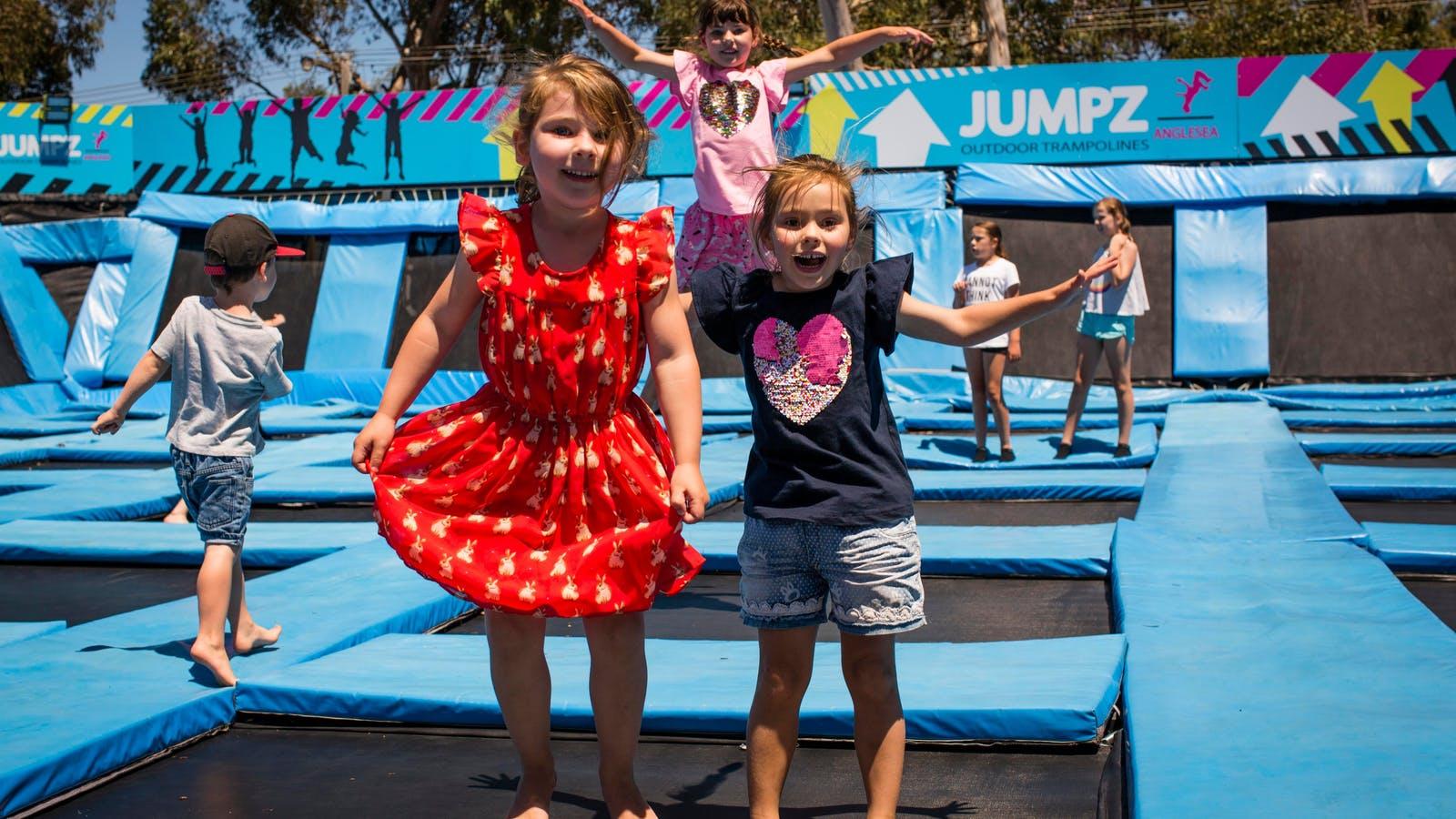 Jumpz Trampoline Park Anglesea