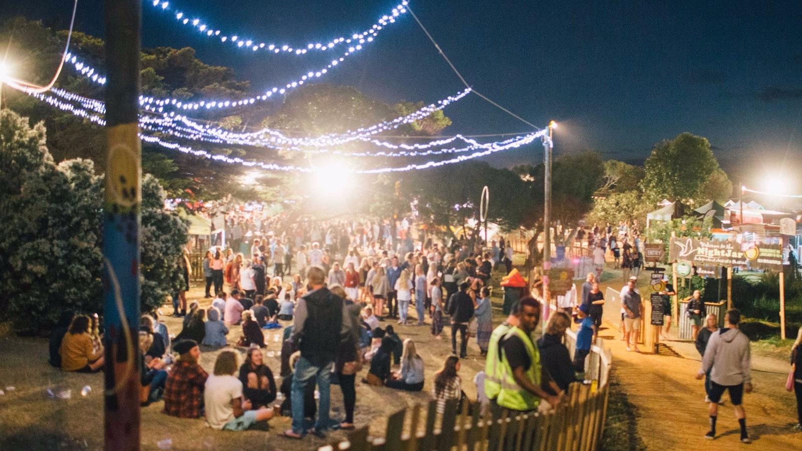 Enter the magical atmosphere of the Nightjar Festival