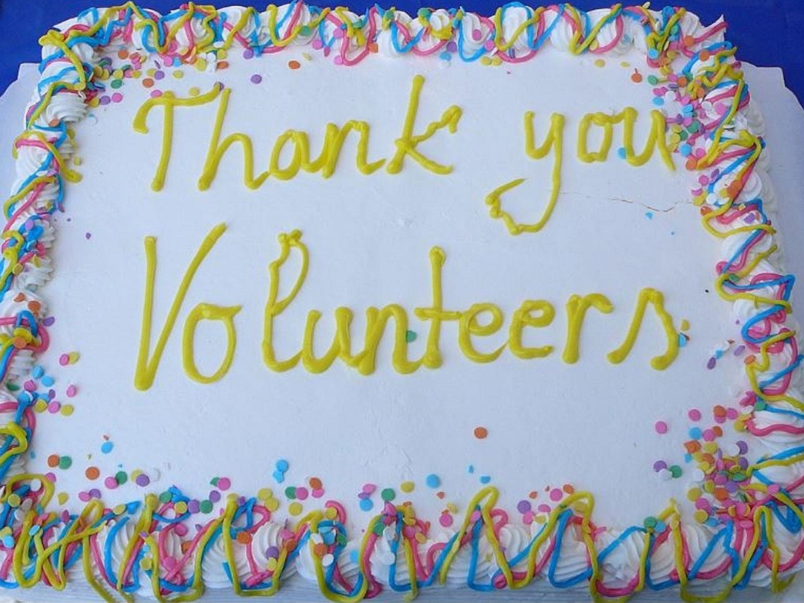 Volunteer Recognition Reception