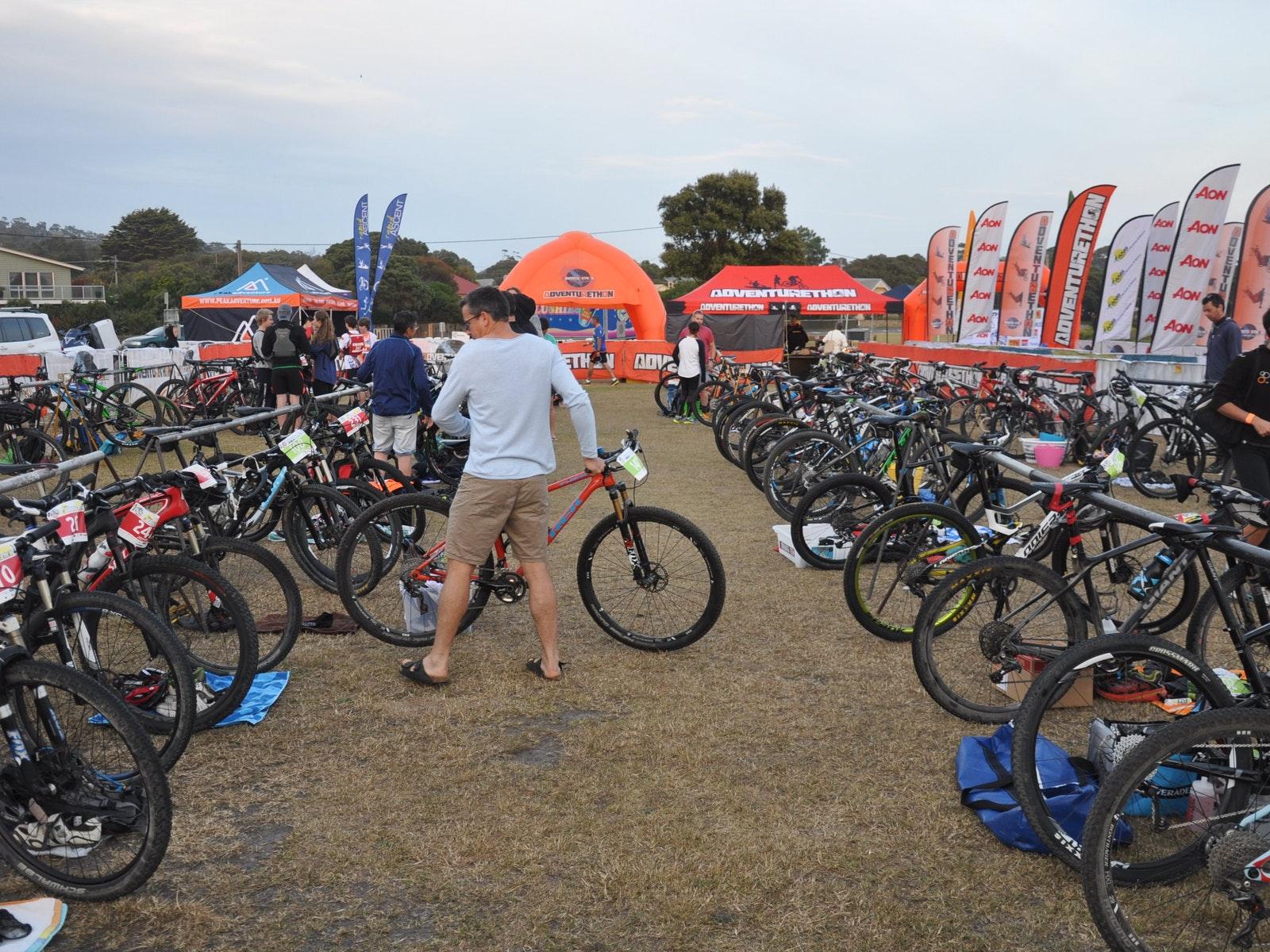 Adventurethon Anglesea Bike Transition