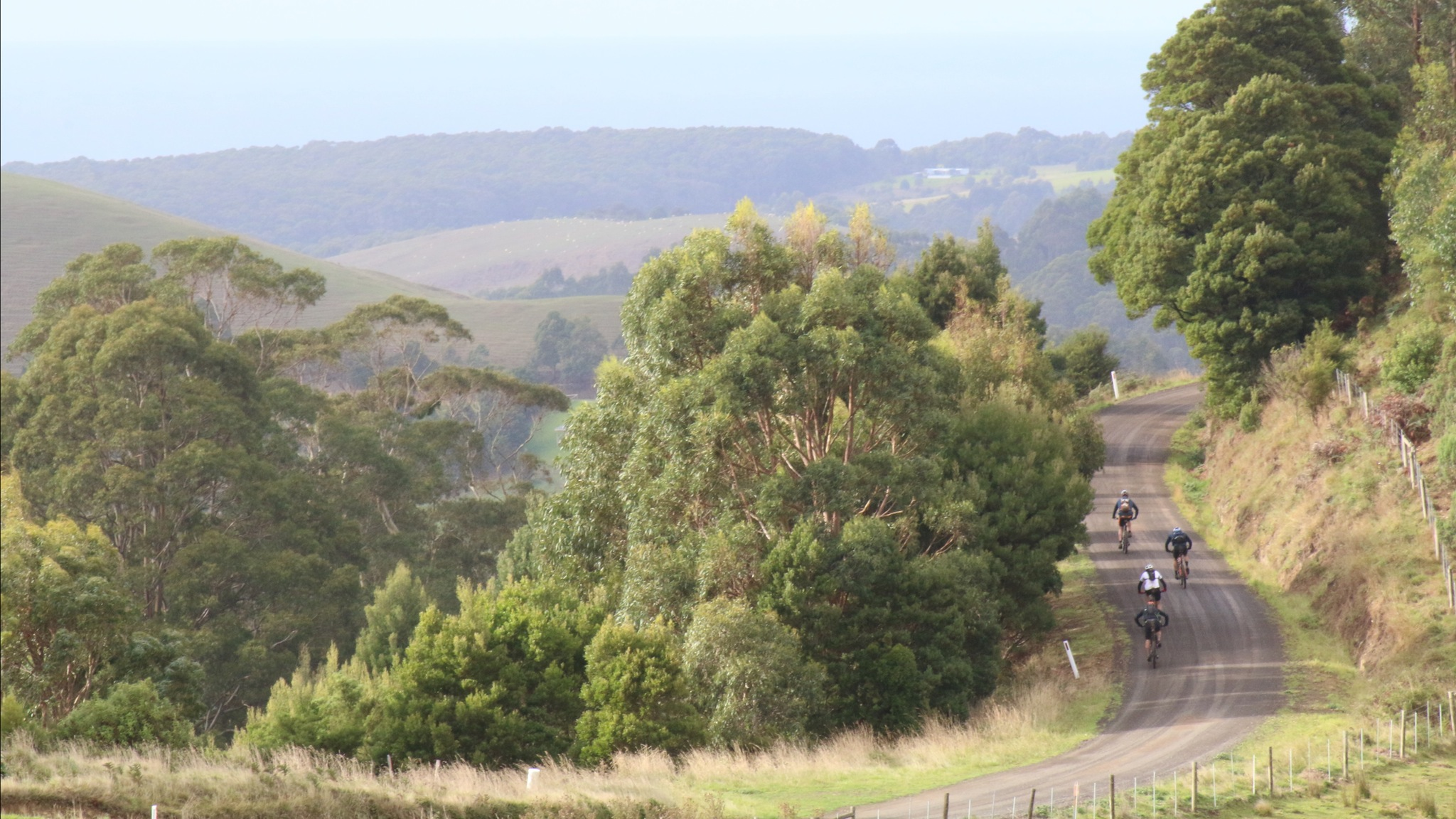 Spectacular scenery on the Otway 300 course