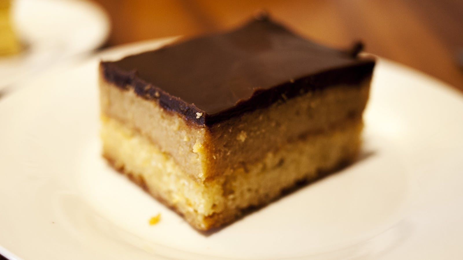 Our famous home made caramel slice