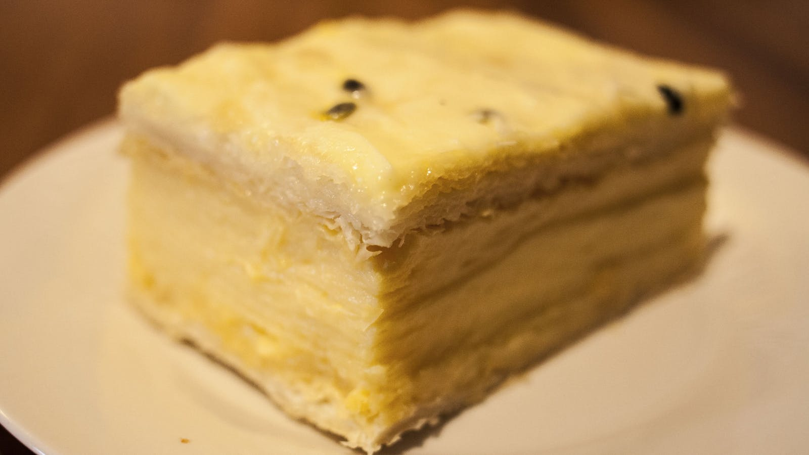 Our famous Vanilla slice